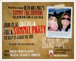 Evite for Summit Party
